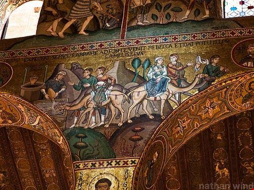 72719 palermo cappella palatina