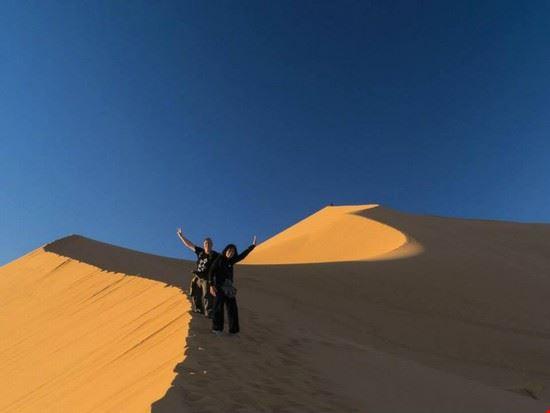 Deserto e  dune di Erg Ghebbi