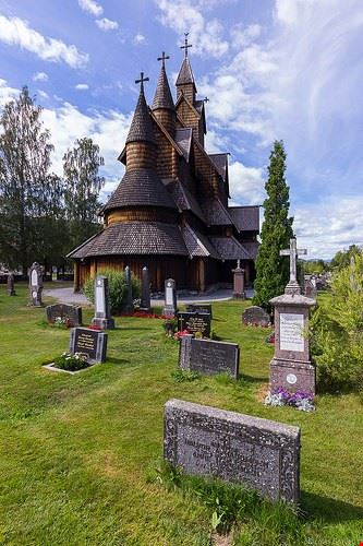 la stavkirke di heddal
