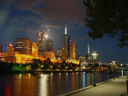 melbourne melbourne by night
