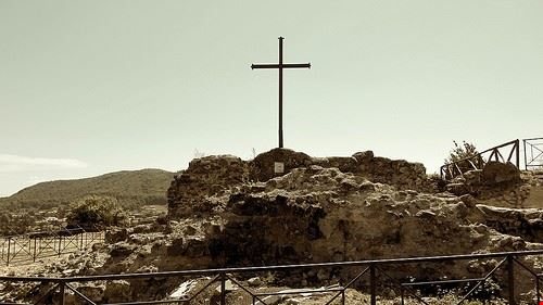 la fortezza di rocca di papa