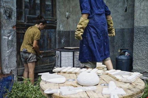 amendola cosma ceramiche il ninfeo