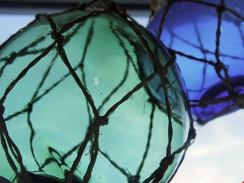 discoteca glass globe