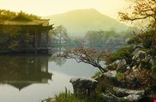 hangzhou vista sul lago