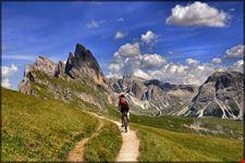 in mountain bike