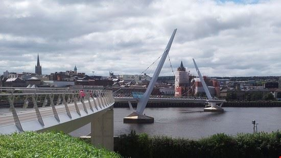 peace bridge, derry