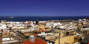 las palmas de gran canaria veduta della citta e della costa