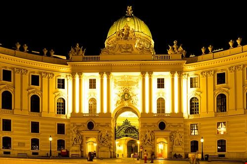 palazzo imperiale di hofburg