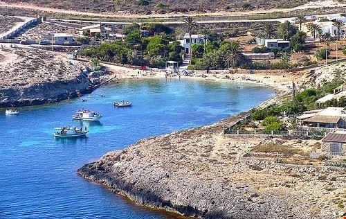Spiaggia Di Cala Francese Isola Di Lampedusa