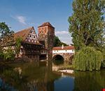 nuremberg paesaggio medioevale
