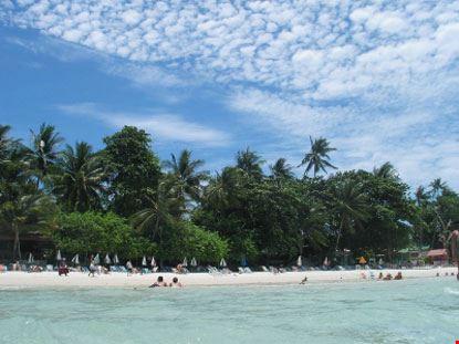 koh samui spiaggia tropicale