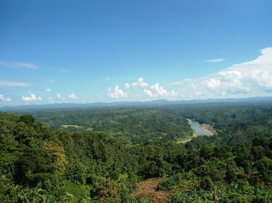 Scenic of Sangu River in Bandarban