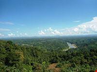 Scenic of Sangu River in Bandarban