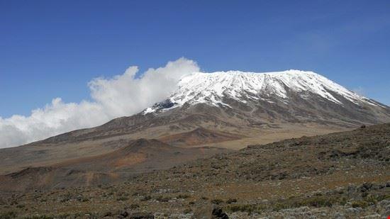 Peak  of Mt Kilimanjaro