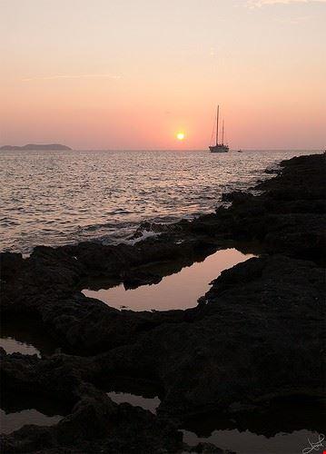 cafe del mar bei san antoni sonnenuntergang wundervoll