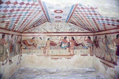 79598  etruscan necropolis