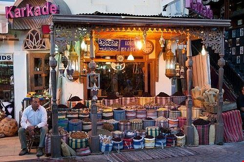 characteristic small shops