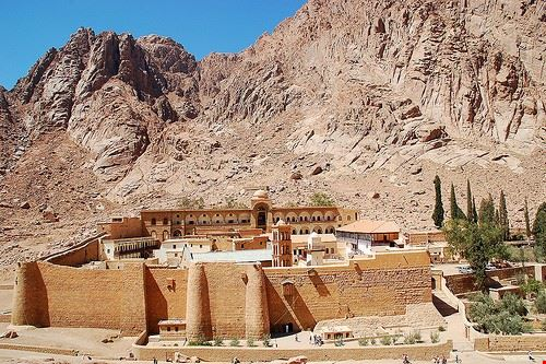 80208  monastero di s caterina e dahab