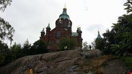 the uspenski orthodox cathedral helsinki