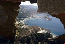 kithira veduta di kapsali sull isola di kithira