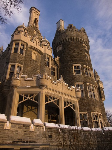 Rental Car Canada >> casa loma Toronto - Monuments and Historic Buildings