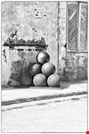 la fontana delle palle di cannone
