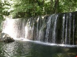 la cascata di Bosco Magnano