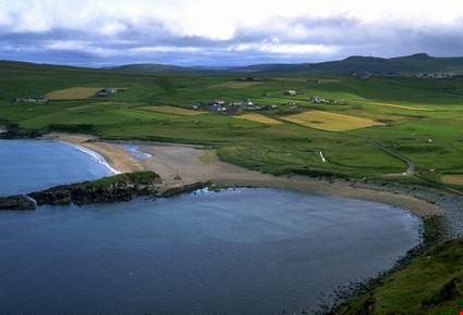 Veduta aerea della costa