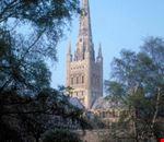 norwich scorcio della cattedrale