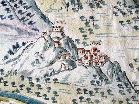 Castello di Cerro al Volturno 1715