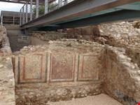 frescoes in the Roman Villa in Toscolano