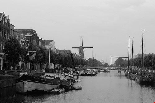83303  cantiere navale historische werf rotterdams welvaren