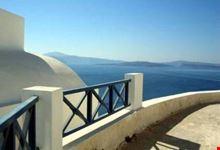 santorini panorama dall isola
