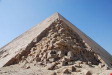 il cairo la piramide romboidale di snefru