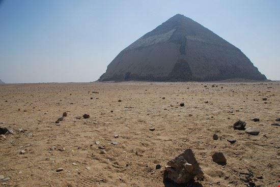 La piramide romboidale di Snefru a Dashur