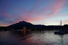 una gita in battello sul lago dei 4 cantoni