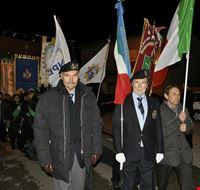 Processione con i labari delle Associazioni, in onore di San Sebastiano