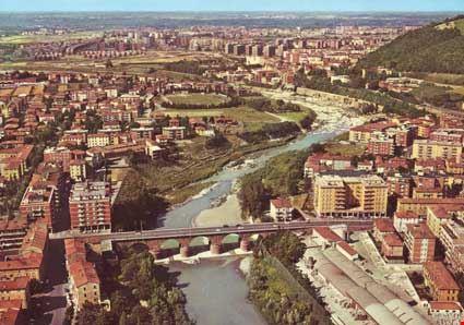 Panorama e fiume Reno