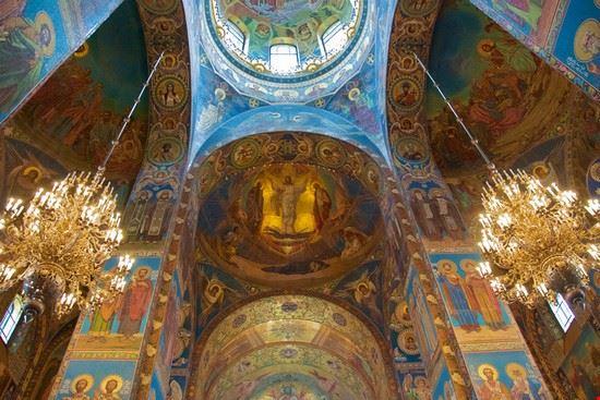 sankt petersburg kirche des erloesers