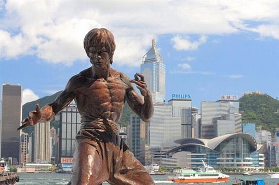 statua bruce lee hong kong