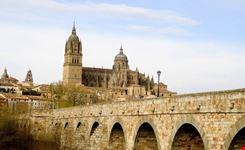 salamanca veduta dal ponte romano