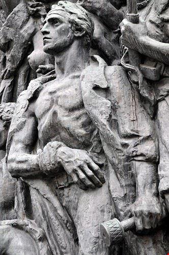 monumento agli eroi del ghetto