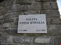 Targa commemorativa Salita Unità d' Italia