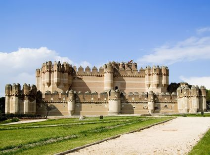 Foto segovia il castello di coca im genes y fotos de - Casa de la paca coca segovia ...