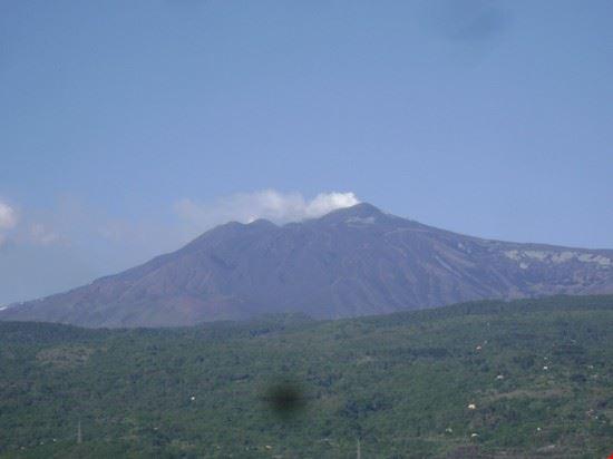Il vulcano in eruzione