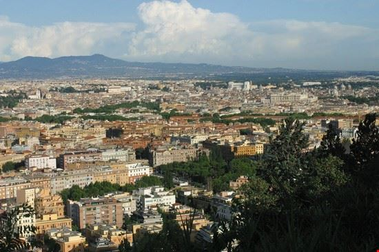 panorama da monte mario roma