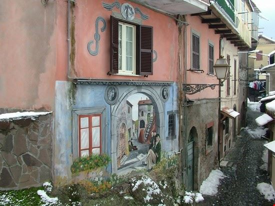 rocca di papa murales