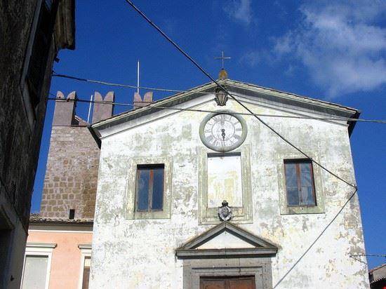 87917 calcata chiesa calcata