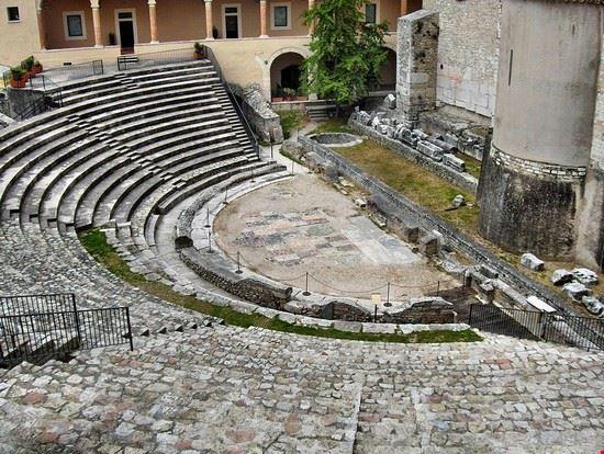 spoleto teatro romano spoleto