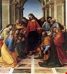 cortona comunione degli apostoli signorelli